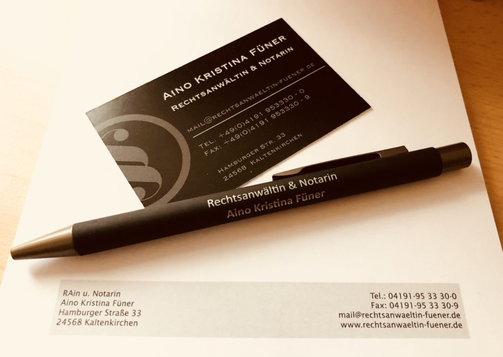 Rechtsanwalt und Notar, Beurkundungen, Beurkundung, Beglaubigung